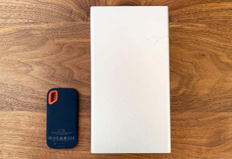 SankDisk ハードディスク比較