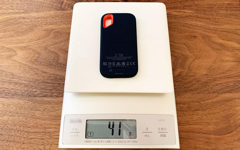 SankDisk 重さ