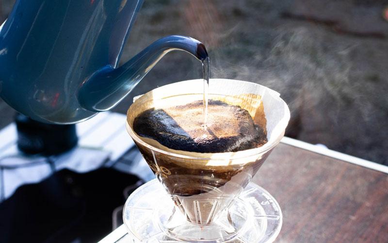 コーヒー入れ方
