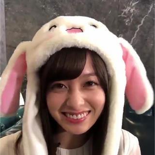 深田恭子うさぎ帽子 橋本環奈さん